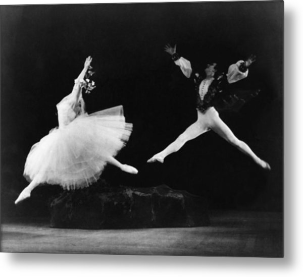 Margot Fonteyn 1919-1991, And Alexis Metal Print by Everett