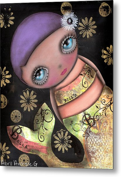 Maria Metal Print by  Abril Andrade Griffith