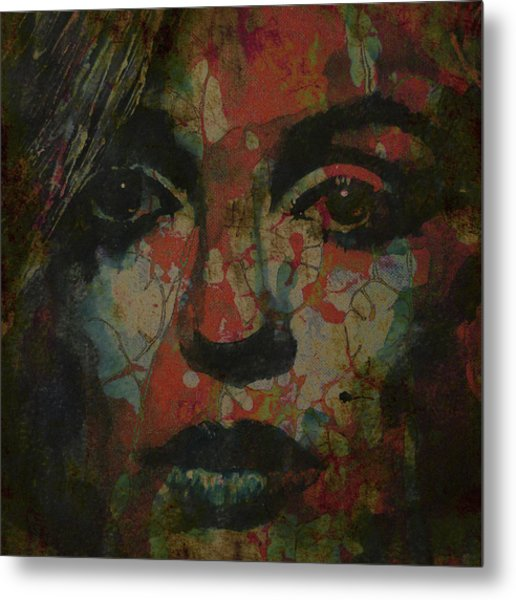 Marilyn Monroe @ I Need You Metal Print