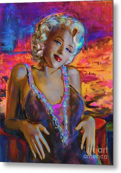 Marilyn Monroe 126 G Metal Print