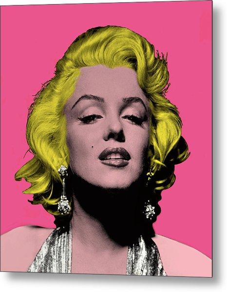 Marilyn Monroe Diva Metal Print