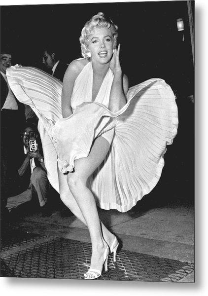 Marilyn Monroe - Seven Year Itch Metal Print