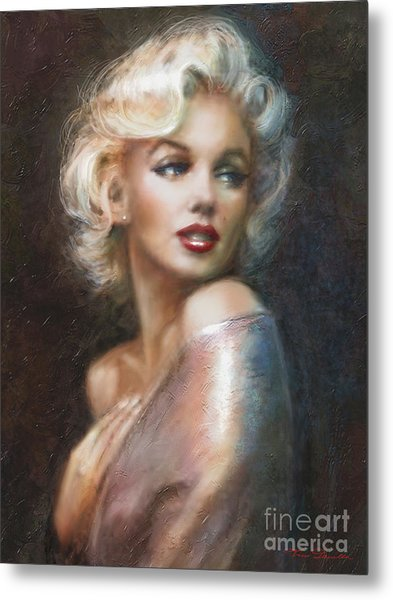 Marilyn Ww Soft Metal Print