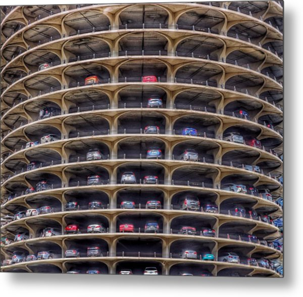 Marina City Chicago Metal Print