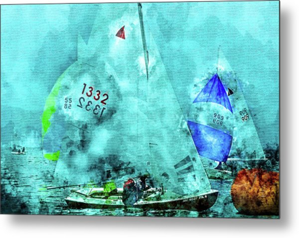 Maritime Number One Metal Print