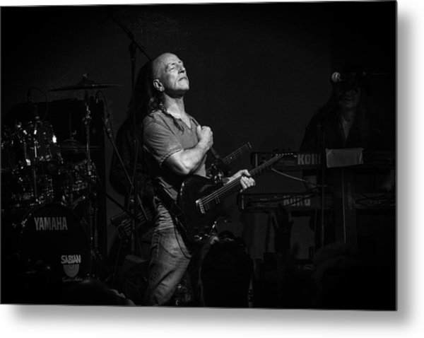 Mark Farner Gfr Metal Print