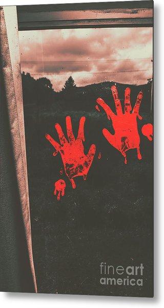 Mark Of Murder Metal Print