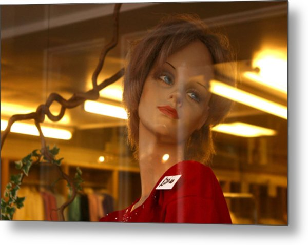 Marlene Looks At Her Life Metal Print by Jez C Self