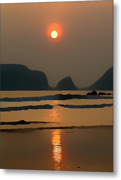 Marloes Sunset Metal Print by Gareth Davies