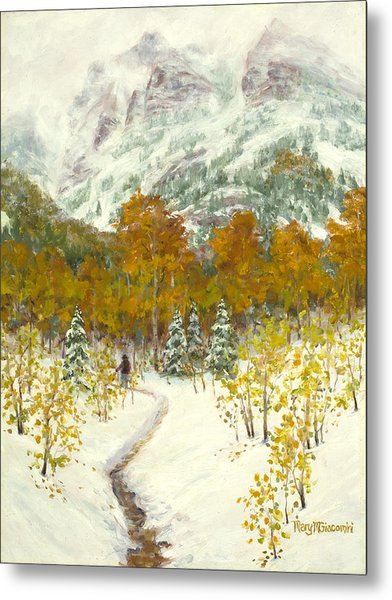 Maroon Bells-snowmass Wilderness Trek Metal Print