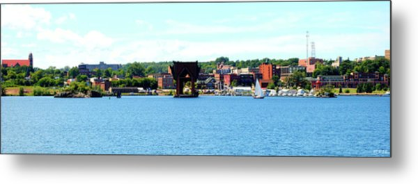 Marquette Michigan Harbor One Metal Print