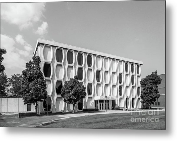Marquette University Lalumiere Hall Metal Print