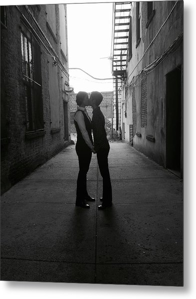 Married Metal Print by Shannon Lee Parker-Ferentinos
