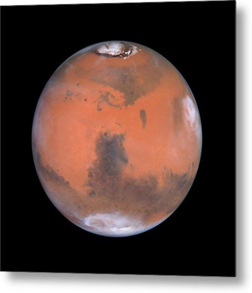 Metal Print featuring the photograph Mars by Artistic Panda