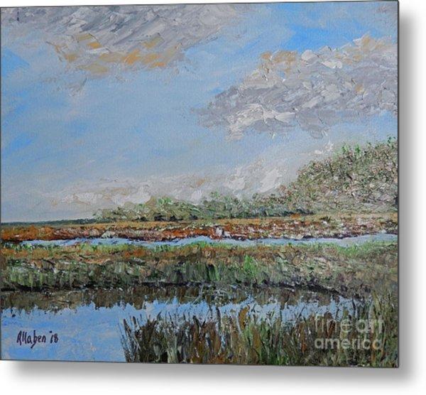 Marsh View Metal Print