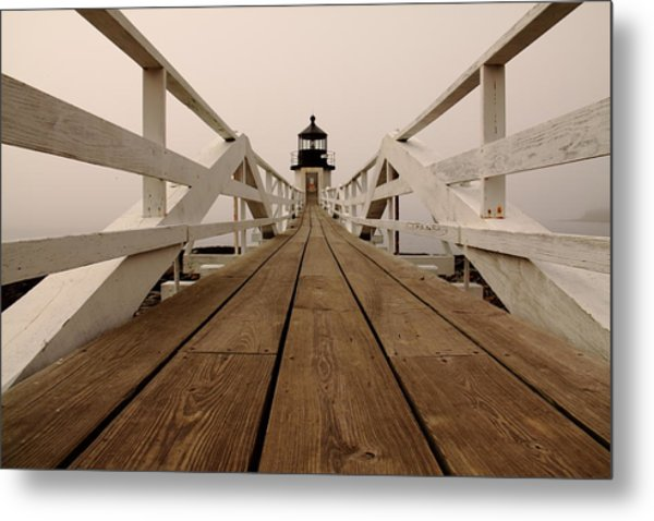 Marshall Point Fog Metal Print