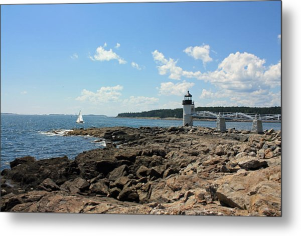 Marshall Point Lighthouse Metal Print