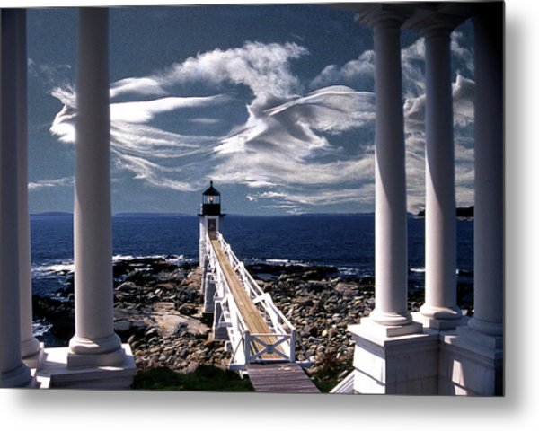 Marshall Point Lighthouse Maine Metal Print
