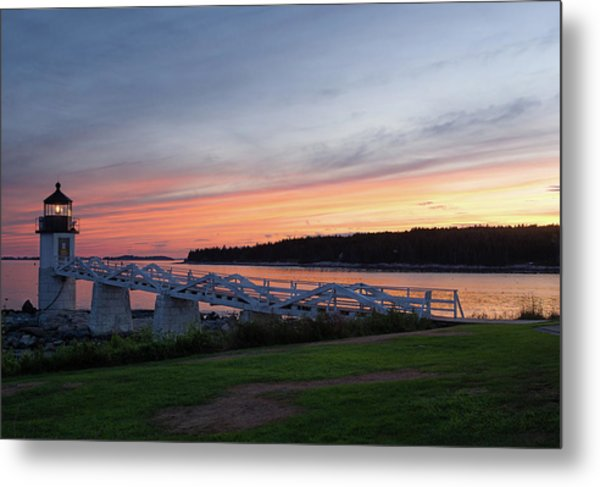 Marshall Point Lighthouse, Port Clyde, Maine -87444 Metal Print