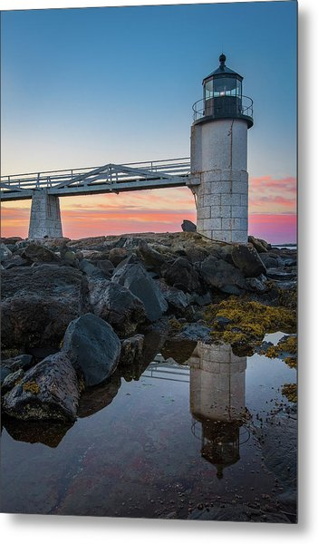 Marshall Point Reflection At Sunrise Metal Print
