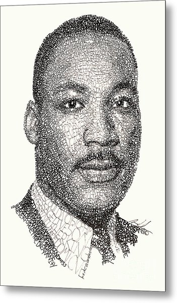 Martin Luther King Jr Metal Print