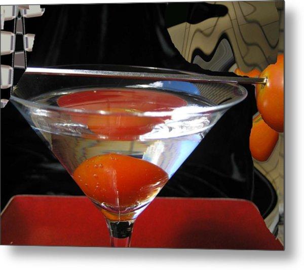 Martini Fantazy1 Metal Print by Evguenia Men