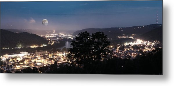 Martins Ferry Night Metal Print