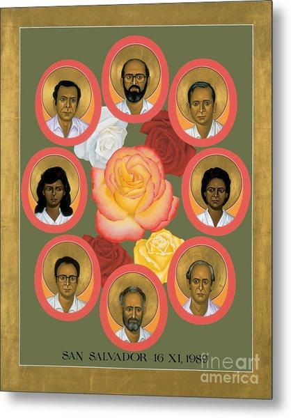Martyrs Of The Jesuit University - Rlmju Metal Print