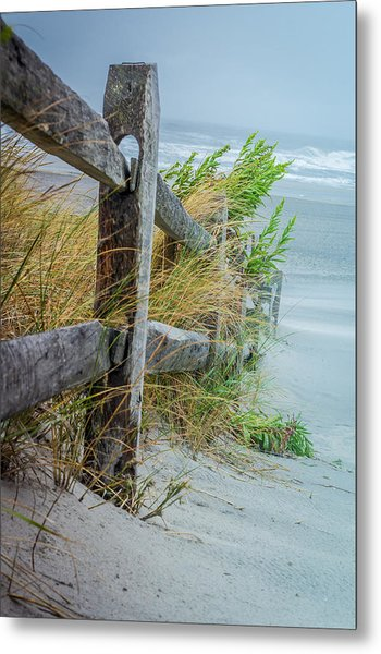 Marvel Of An Ordinary Fence Metal Print