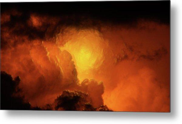 Marvelous Clouds Metal Print
