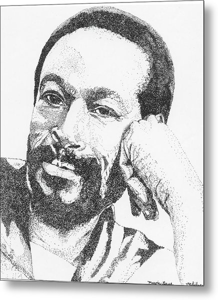 Marvin Gaye  Metal Print