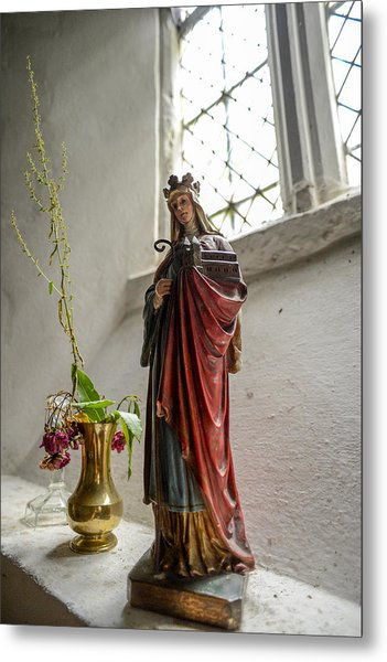 Our Blessed Lady At St Margaret Of Antioch Metal Print