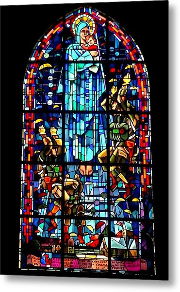 Mary And The Paratroopers Metal Print