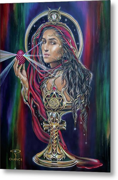 Mary Magdalen - The Holy Grail Metal Print