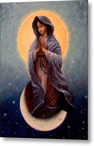 Mary Queen Of Heaven Metal Print
