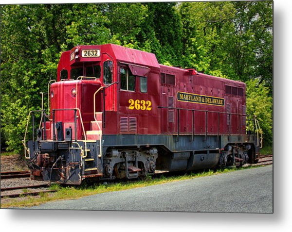 Maryland And Delaware Engine 2632 Metal Print