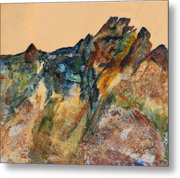 Mary's Mountain Metal Print