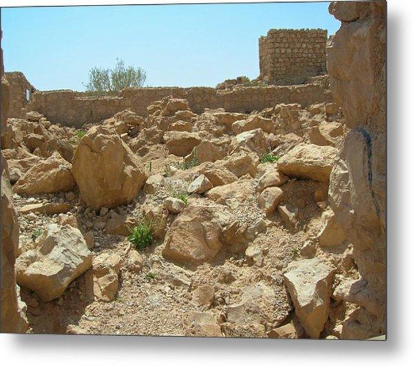 Masada I Metal Print by Susan Heller