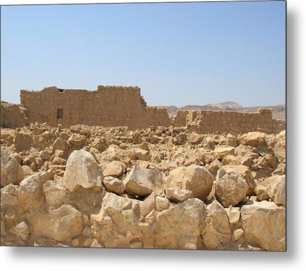 Masada II Metal Print by Susan Heller