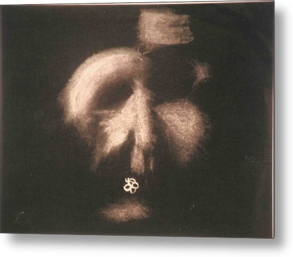 Metal Print featuring the photograph Mask by AJ Brown
