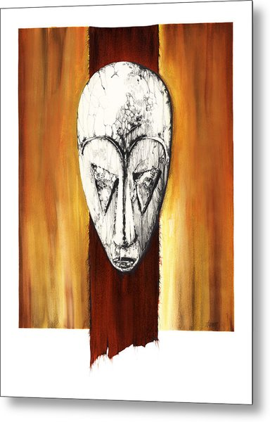 Mask II Untitled Metal Print