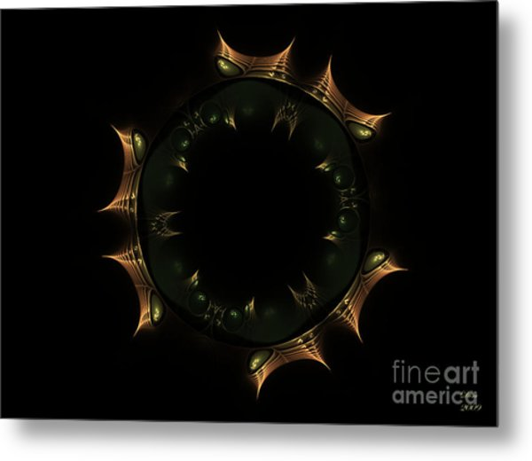Masque Du Temps Metal Print by Dom Creations