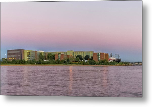 Massachusetts Maritime Academy At Sunset Metal Print