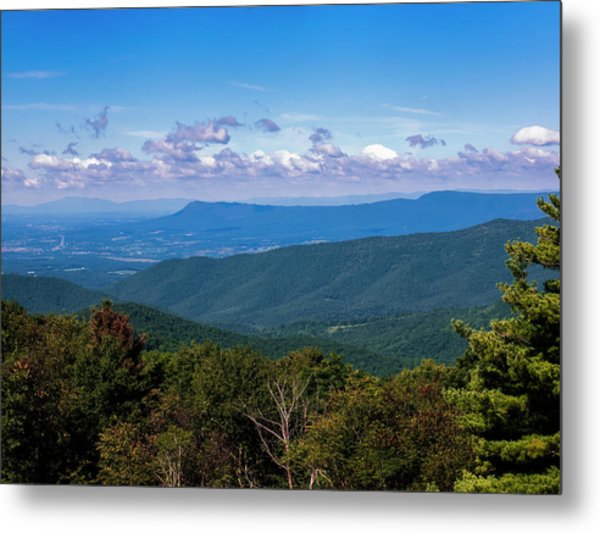 Metal Print featuring the photograph Massanutten by Penny Lisowski