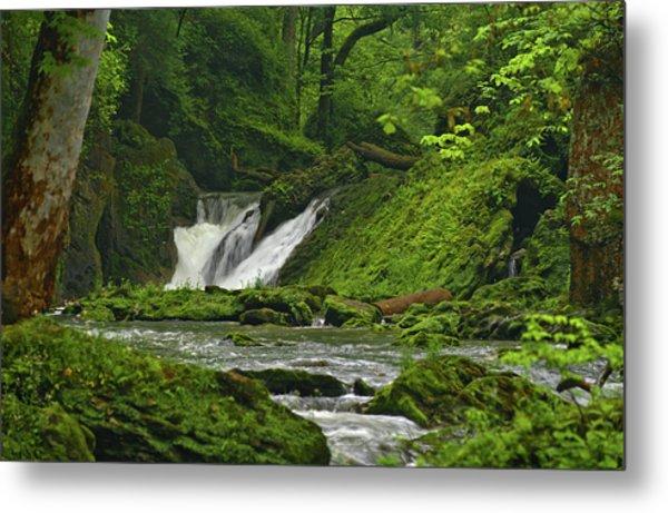 Metal Print featuring the photograph Massie Creek Falls by Rick Hartigan
