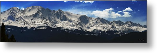 Massive View Metal Print by Darryl Gallegos