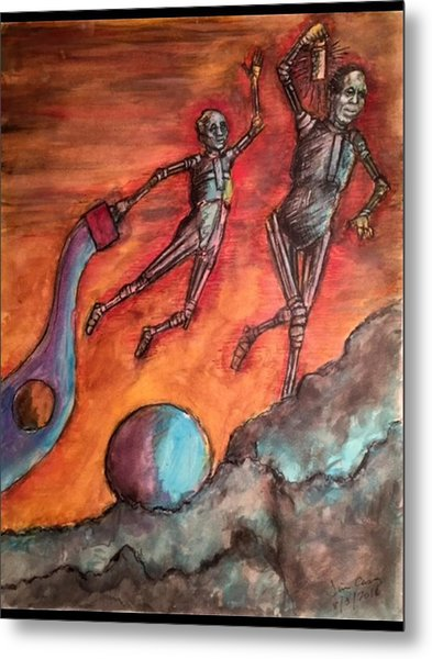 Master Minds Of Mars, The Voices Of Time Metal Print