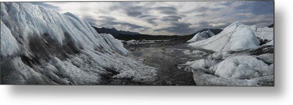 Matanuska Glacier Panorama Metal Print