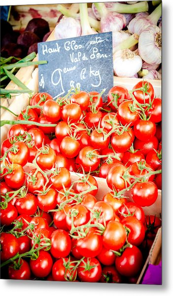 Metal Print featuring the photograph 'maters by Jason Smith