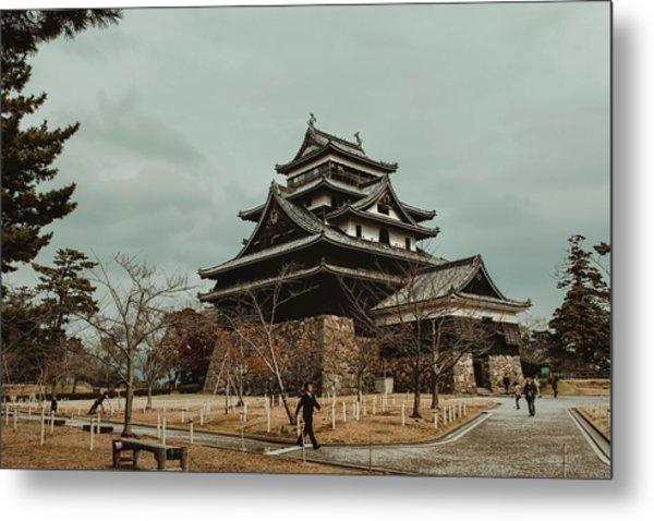Matsue Castle Metal Print